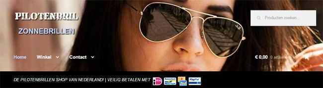 Piloten webshop made by appsmarketeers