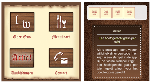 app met loyalty zegels